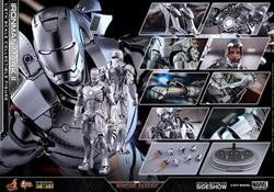 Picture of Iron Man Mark II Diecast Sixth Scale Figure