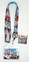 Picture of Thor Lanyard with Zip Card Holder