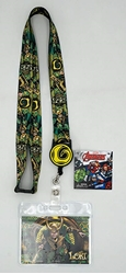 Picture of Loki Lanyard with Zip Card Holder