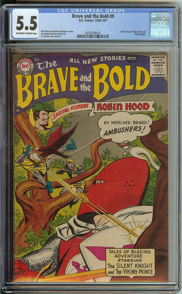 Brave and the Bold #9
