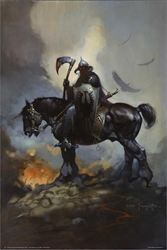 "Picture of Frank Frazetta Death Dealer 24"" x 36"" Poster"
