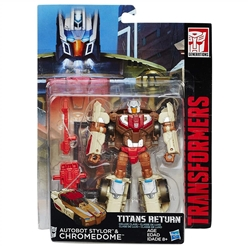 Picture of Transformers Generations Titans Return Autobot Stylor and Chromedome Figure