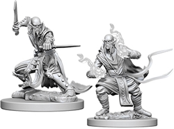 Picture of Dungeons and Dragons Nolzur's Githzerai Unpainted Miniature