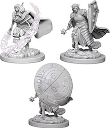 Picture of Dungeons and Dragons Nolzur's Elf Male Cleric Unpainted Miniature