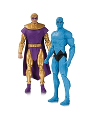 Picture of Doctor Manhattan and Ozymandias Doomsday Clock Action Figure 2-Pack