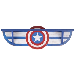 Picture of Captain America MDF Shelf Wall Hanging