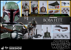 Picture of Star Wars Empire Strikes Back Boba Fett Deluxe Version Sixth Scale Figure
