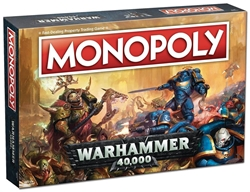 Picture of Monopoly Board Game Warhammer 40,000 Edition