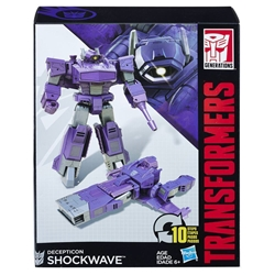 Picture of Transformers Generations Decepticon Shockwave Walgreens Exclusive