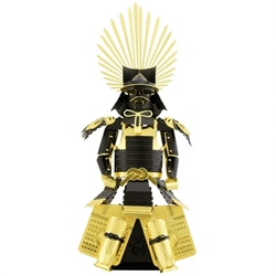 Picture of Japanese Toyotomi Hideyoshi Armor 3D Metal Earth Model Kit