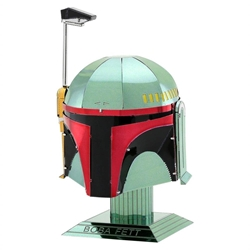 Picture of Star Wars Boba Fett Helmet Metal Earth 3D Metal Model Kit