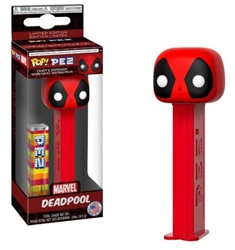 Picture of Pop Marvel PEZ Deadpool Candy and Dispenser