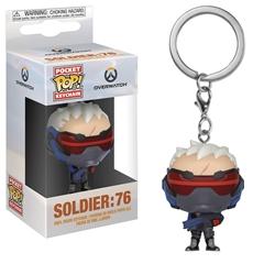 Picture of Pocket Pop Overwatch Soldier 76 Vinyl Keychain