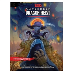 Picture of Dungeons and Dragons RPG Waterdeep Dragon Heist HC