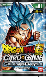 Picture of Dragon Ball Super TCG Galactic Battle Booster Pack