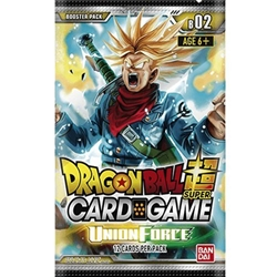 Picture of Dragon Ball Super TCG Union Force Booster Pack
