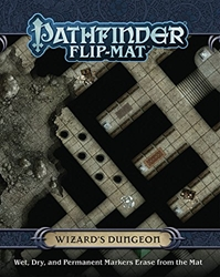 Picture of Pathfinder RPG Wizard's Dungeon Flip-Mat