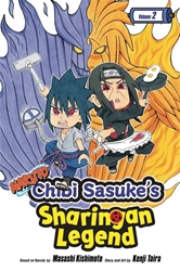 Picture of Naruto Chibi Sasuke's Sharingan Legend Vol 02 SC