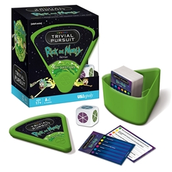 Picture of Trivial Pursuit Game Rick and Morty Edition
