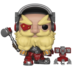 Picture of Pop Games Overwatch Torbjorn and Buddy Vinyl Figure