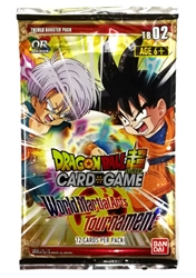 Picture of Dragon Ball Super CCG World Martial Arts Tournament Booster Pack