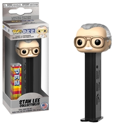Picture of Pop Marvel PEZ Stan Lee Candy & Dispenser