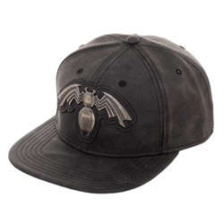 Picture of Venom Distressed Metal Logo Snapback Cap