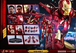 Picture of Iron Man Mark IV Diecast Sixth Scale Hot Toys Figure