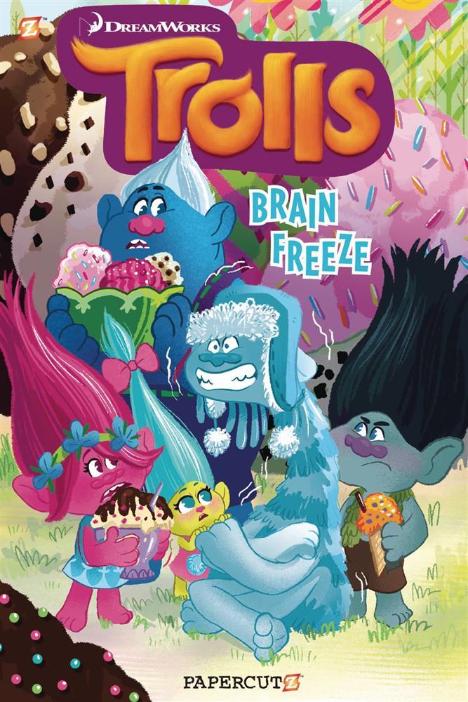 Trolls Vol 04 SC Brain Freeze