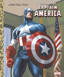 Picture of Courageous Capt America Little Golden Book