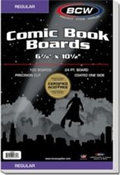 Picture of Comic Current Board 100-Count Pack BCW