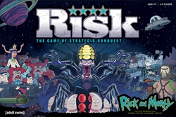 Picture of Rick and Morty Risk Board Game