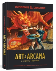 Picture of Dungeons and Dragons Art and Arcana HC Visual History