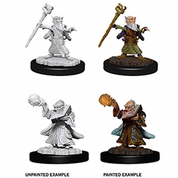 Picture of Dungeons and Dragons Nolzur's Marvelous Unpainted Gnome Male Wizard Miniatures