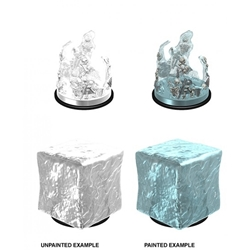 Picture of Dungeons and Dragons Nolzur's Marvelous Unpainted Gelatinous Cube Miniatures