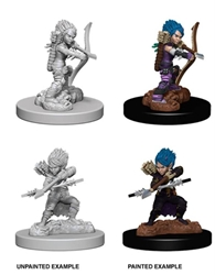 Picture of Dungeons and Dragons Nolzur's Marvelous Unpainted Gnome Female Rogue Miniatures