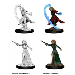 Picture of Dungeons and Dragons Nolzur's Marvelous Unpainted Human Female Wizard Miniatures