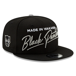Picture of Black Panther Made in Wakanda Script 9Fifty Snapback Cap