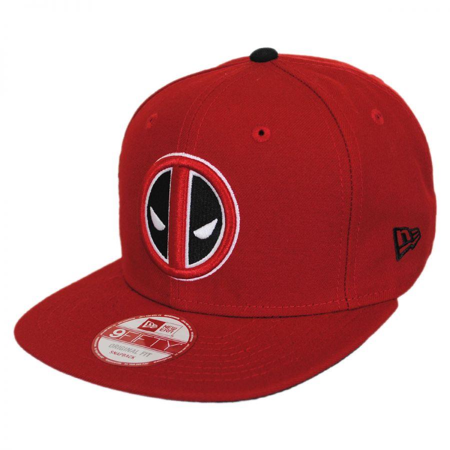 9d9ac9d8bd42c Bedrock City Comic Company. Deadpool Logo 9Fifty Snapback Cap