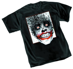 Picture of Joker Bats Jock Men's Tee LARGE