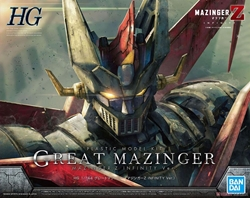 Picture of Great Mazinger Z Infinity Version HG Model Kit