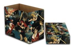 Picture of DC Comics DC Bombshells Short Comic Storage Box