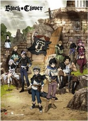Picture of Black Clover Key Art Wall Scroll