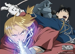 Picture of Fullmetal Alchemist Brotherhood Group 2 Wall Scroll