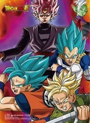 Picture of Dragon Ball Super Future Trunks Group 01 High End Wall Scroll