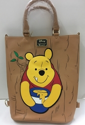 Picture of Loungefly Disney Winnie the Pooh Front and Back Tote Bag