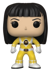 Picture of Pop Television Power Rangers Yellow Ranger Trini No Helmet Vinyl Figure