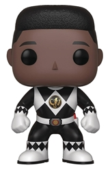 Picture of Pop Television Power Rangers Black Ranger Zack No Helmet Vinyl Figure
