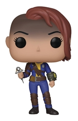 Picture of Pop Games Fallout Vault Dweller Female Vinyl Figure