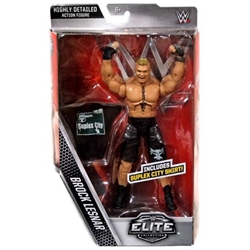 Picture of WWE Elite Collection Brock Lesnar Action Figure